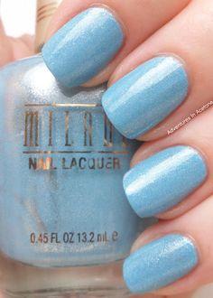 blue Nails  nail art www.finditforweddings.com
