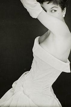 Photo by Henry Clarke. Vogue 1954