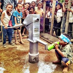 Clean Water for 200 children with a free click.
