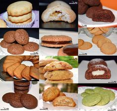 Doce recetas de galletas