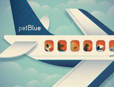 pet blue