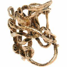 Wendy Nichol Gold Loose Knit Ring