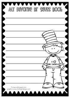 Dr Seuss Writing
