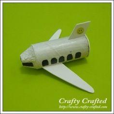 Toilet Roll Plane