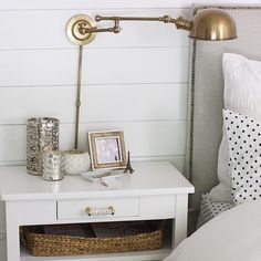 Nightstand Sconces - Pottery Barn