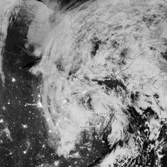 Remnants of Hurricane Sandy moved inland in the early morning hours of October 31, 2012. As the center of the system passed Pennsylvania, its maximum sustained winds were 40 miles (64 kilometers) per hour.