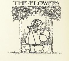 Charming garden drawing from 1896 — The British Library on Flickr | A Gardner's Notebook with Douglas E. Welch