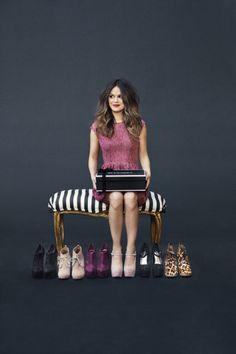 Rachel Bilson + shoes