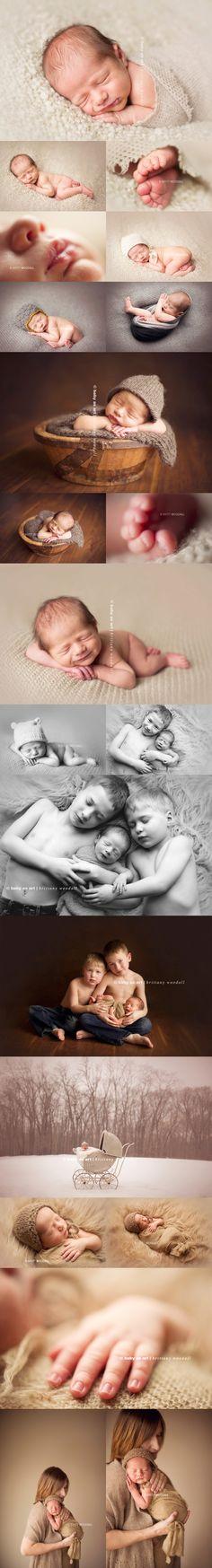Newborn Photography- Poses.  LOVE!!!