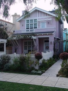 Pale Pink Cottage