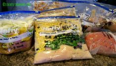 How to make 20 Freezer Meals in 4 Hours #freezermeal