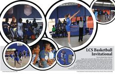 Yearbook spreads | Basketball Yearbook Spreads