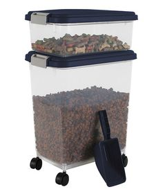 Chrome Airtight Pet Food Container Combo | something special every day