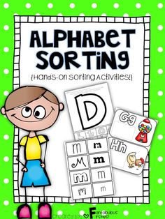 "This ""Alphabet Sorting Activities"" unit has activities that will keep your students engaged in their learning!"
