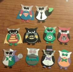 #owl builder punch #stampin up