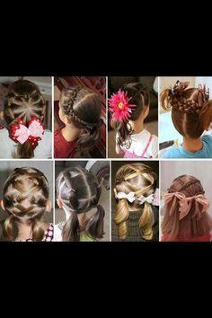 Lil girl hair ideas