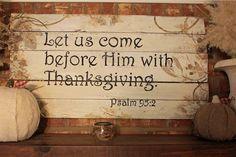 The B Farm: Thanksgiving sign