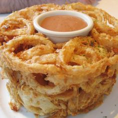Onion Ring Loaf Recipe from Mamma's Recipes