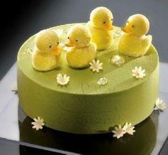 Baby Ducklings, sweet cake :)
