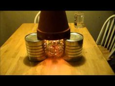 Candle Heater using oil lamp