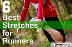 6 Stretches Every Runner Should Do | via @SparkPeople #run #running #fitness