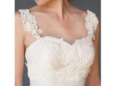 Floral Lace Fair Trade Wedding Gown | Green Bride Guide