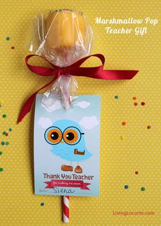 Could be a neat Christmas gift instead of --> A fun Teacher Appreciation Gift Idea with Free Printable Owl Tags. Design by Angeli via @LivingLocurto
