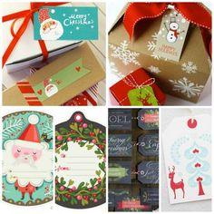 Put a Tag On It: 15 Free Printable Christmas Gift Tags
