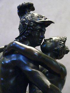 Mars and Venus Bronze Flemish 1575