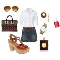 Classy, created by #abstephens06 on polyvore.com