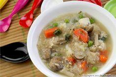 Vietnamese Vegetarian Rice Soup