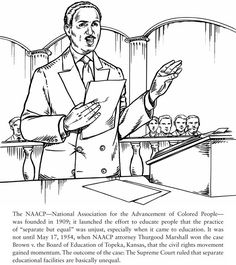 Voting Civil Rights Coloring Pages