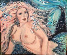 Azennia the curious mermaid