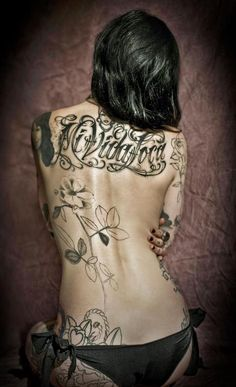 love black and white tattoos