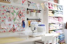 Craft/Sewing Room Update
