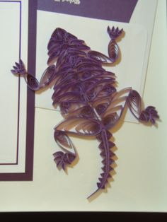 quilled TCU Horned Frog