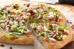 Chicken Bacon Ranch Pizza – bet you have all the ingredients on hand for this right now...