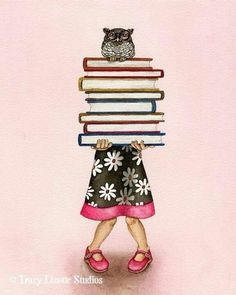 owl, book