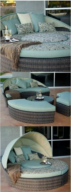 This might be the perfect piece of patio furniture. Great for Dad.