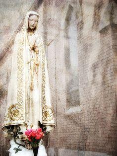 Blessed Virgin Mary at St. Mary's Catholic Church, Minooka, Illinois