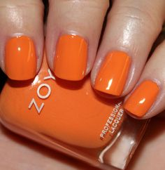 Zoya - Arizona  fun summer color!