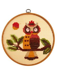 owl cross stitch...
