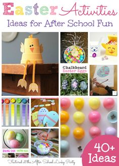40+ Easter Activities for School Ages