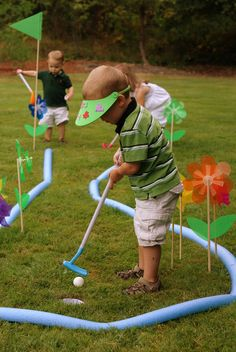 """Photo 5 of 48: Golf / Birthday """"Gage is FORE...and a half!""""   Catch My Party"""