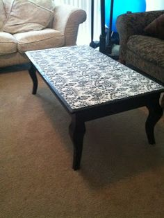 Coffee table ideas on pinterest coffee tables grey for Revamp coffee table
