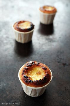 Mini Creme Brulee Cupcakes