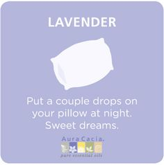 #lavender for sleep #aromatherapy