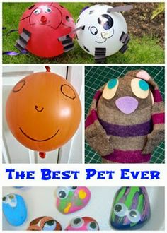 The Best Bet Ever Book and Making Pretend Pets
