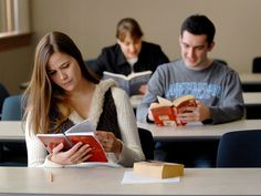 English students at Cal U can pursue tracks in creative writing, journalism, literature or education. #English #journalism #writing #caluofpa