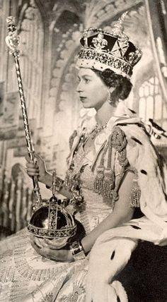 Queen Elizabeth's Crowning